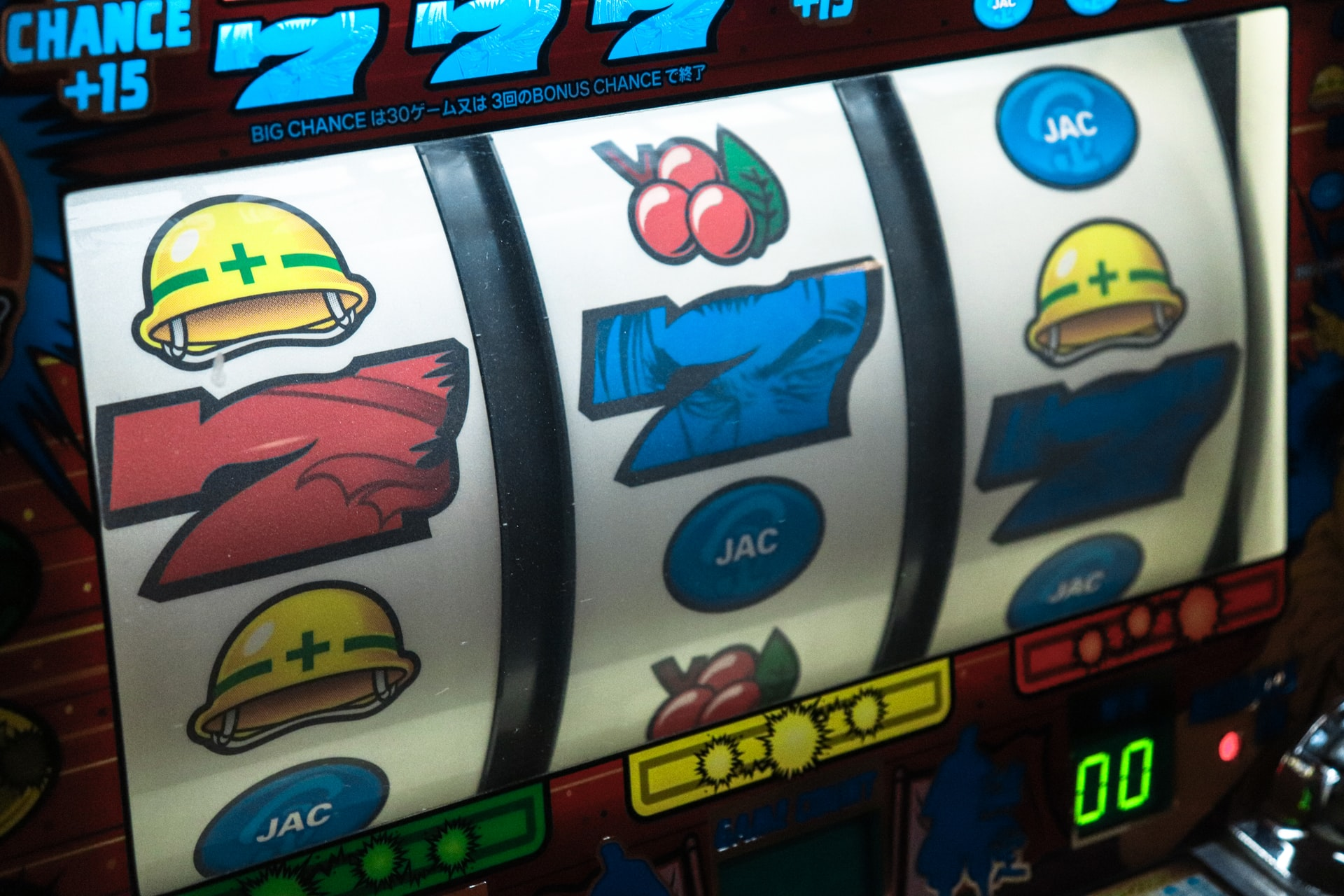 gambling slots pexels