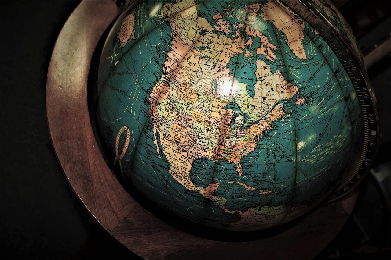 North America Stock image